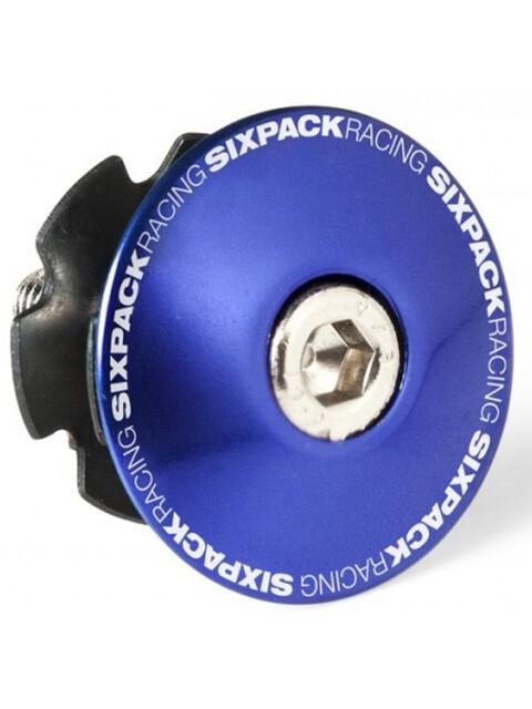 "Sixpack Aheadkappe 1 1/8"" mit Kralle blau"